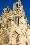 κυρία notre Reims καθεδρικών ναών Στοκ φωτογραφίες με δικαίωμα ελεύθερης χρήσης