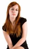 κυρία redhead Στοκ Φωτογραφία