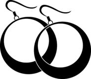 Κυρίες γύρω από τα σκουλαρίκια ελεύθερη απεικόνιση δικαιώματος