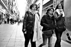 Κυρίες στην οδό 53 Στοκ Φωτογραφίες