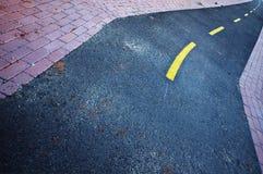 κυρτός δρόμος Στοκ φωτογραφίες με δικαίωμα ελεύθερης χρήσης