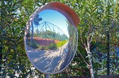 Κυρτός καθρέφτης Στοκ Φωτογραφία