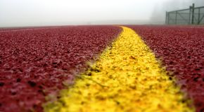 κυρτός κόκκινος κίτρινο&sigmaf Στοκ εικόνα με δικαίωμα ελεύθερης χρήσης