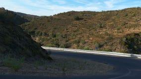 κυρτός δρόμος βουνών φιλμ μικρού μήκους