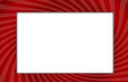 κυρτό κόκκινο κλίσης πλα&iot Στοκ φωτογραφίες με δικαίωμα ελεύθερης χρήσης