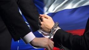 Κυρώσεις Ρωσία του ΝΑΤΟ, αλυσοδεμένα όπλα, πολιτική ή οικονομική σύγκρουση, υπεράσπιση απόθεμα βίντεο
