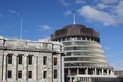κυψέλη που χτίζει τη Νέα Ζηλανδία Στοκ Εικόνα