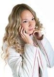 κυψελοειδές τηλεφωνι&k Στοκ Εικόνες