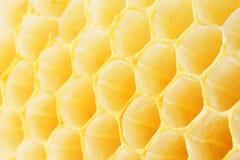 Κυψελωτή μακροεντολή ως υπόβαθρο Προϊόντα μελισσοκομίας Apitherapy Στοκ Φωτογραφίες