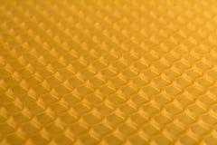 Κυψελωτή μακροεντολή ως υπόβαθρο Προϊόντα μελισσοκομίας Apitherapy Στοκ Φωτογραφία