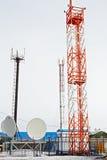 Κυψελοειδείς πύργοι στο βόρειο χωριό Στοκ φωτογραφίες με δικαίωμα ελεύθερης χρήσης