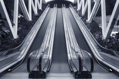 Κυλιόμενη σκάλα και κλιμακοστάσιο Στοκ Εικόνες