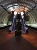 Κυλιόμενη σκάλα στην Ουάσιγκτον Δ Γ Σταθμός μετρό Στοκ φωτογραφία με δικαίωμα ελεύθερης χρήσης