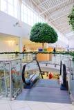 Κυλιόμενη σκάλα στο εμπορικό κέντρο μέγα Στοκ Εικόνα