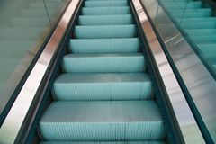 Κυλιόμενη σκάλα Στοκ εικόνα με δικαίωμα ελεύθερης χρήσης
