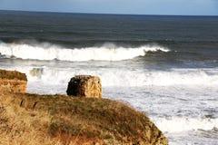 Κυλώντας κύματα Στοκ εικόνες με δικαίωμα ελεύθερης χρήσης