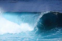 Κυλώντας κύμα θάλασσας στοκ φωτογραφίες