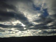 Κυλώντας ουρανού Στοκ Εικόνες