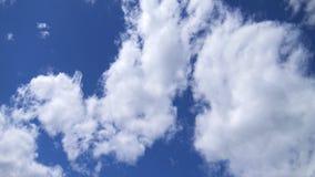 Κυλώντας σύννεφα Timelapse φιλμ μικρού μήκους