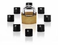 κωδικός πρόσβασης έννοια&sig Στοκ εικόνα με δικαίωμα ελεύθερης χρήσης
