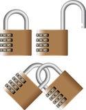 κωδικός πρόσβασης λουκέ& Στοκ φωτογραφία με δικαίωμα ελεύθερης χρήσης