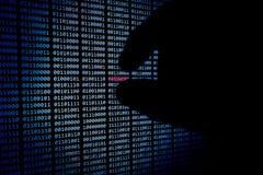 Κωδικός πρόσβασης που κλέβεται στοκ εικόνες με δικαίωμα ελεύθερης χρήσης