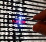 Κωδικός πρόσβασης Stealin Στοκ φωτογραφία με δικαίωμα ελεύθερης χρήσης