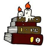 κωμικά απόκοσμα παλαιά βιβλία κινούμενων σχεδίων Στοκ Εικόνες