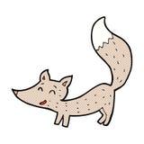 κωμικά κινούμενα σχέδια λίγος λύκος Στοκ Εικόνες