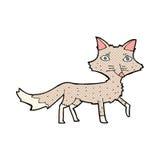 κωμικά κινούμενα σχέδια λίγος λύκος Στοκ εικόνες με δικαίωμα ελεύθερης χρήσης