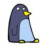 κωμικά κινούμενα σχέδια penguin Στοκ Εικόνα
