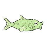 κωμικά ψάρια κινούμενων σχ&eps Στοκ Εικόνες