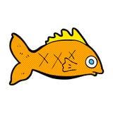 κωμικά ψάρια κινούμενων σχ&eps Στοκ εικόνες με δικαίωμα ελεύθερης χρήσης