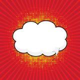 Κωμική λεκτική φυσαλίδα, κωμικό backgound ελεύθερη απεικόνιση δικαιώματος