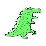κωμικός δεινόσαυρος κινούμενων σχεδίων Στοκ εικόνα με δικαίωμα ελεύθερης χρήσης