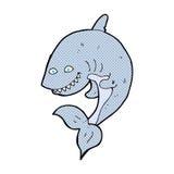 κωμικός καρχαρίας κινούμενων σχεδίων Στοκ Εικόνες