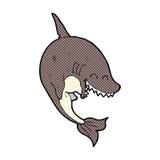 κωμικός καρχαρίας κινούμενων σχεδίων Στοκ φωτογραφίες με δικαίωμα ελεύθερης χρήσης