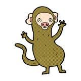 κωμικός πίθηκος κινούμενων σχεδίων Στοκ φωτογραφίες με δικαίωμα ελεύθερης χρήσης