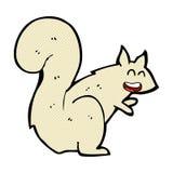 κωμικός σκίουρος κινούμενων σχεδίων Στοκ φωτογραφία με δικαίωμα ελεύθερης χρήσης
