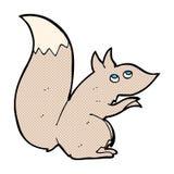 κωμικός σκίουρος κινούμενων σχεδίων Στοκ Φωτογραφίες