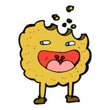 κωμικός χαρακτήρας κινουμένων σχεδίων μπισκότων Στοκ Εικόνα