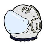 κωμικό κράνος αστροναυτών κινούμενων σχεδίων Στοκ εικόνες με δικαίωμα ελεύθερης χρήσης