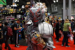 Κωμικό Con 2015 μέρος 3 61 της Νέας Υόρκης στοκ εικόνες με δικαίωμα ελεύθερης χρήσης