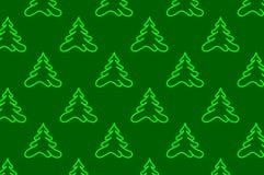 Κωνοφόρο δέντρο - διανυσματικό υπόβαθρο διανυσματική απεικόνιση
