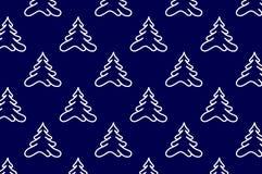 Κωνοφόρο δέντρο - διανυσματικό υπόβαθρο απεικόνιση αποθεμάτων