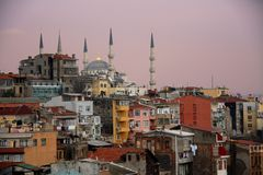 Κωνσταντινούπολη sultanahmet Στοκ Εικόνες