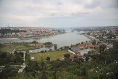Κωνσταντινούπολη Eyup Hill LOTI του Pierre Στοκ Εικόνα
