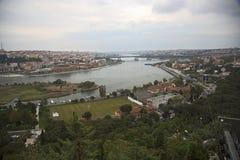 Κωνσταντινούπολη Eyup Hill LOTI του Pierre Στοκ Εικόνες