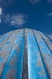 κωπηλασία φλουδών βαρκών που αναστρέφεται Στοκ φωτογραφία με δικαίωμα ελεύθερης χρήσης