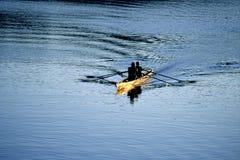 κωπηλασία Στοκ φωτογραφία με δικαίωμα ελεύθερης χρήσης